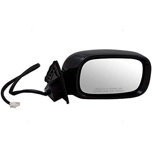 Passengers Power Side View Mirror Heated Memory Puddle Lamp Power Folding Replacement for 01-06 Lexus LS430 LX1321118