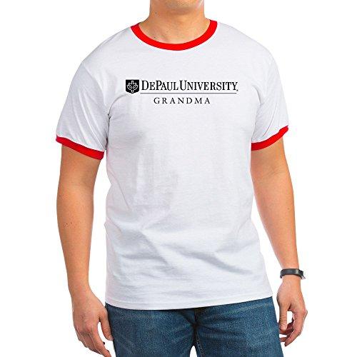 versity Grandma - Ringer T-Shirt, 100% Cotton Ringed T-Shirt, Vintage Shirt ()