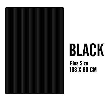 Amazon.com: Yoga Mats 10MM Extra Thick 183X80cm Plus Size ...