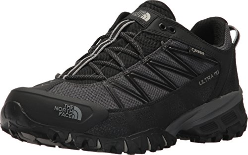 The North Face Ultra 110 GTX TNF Black/Dark Shadow/Grey Mens Running Size -