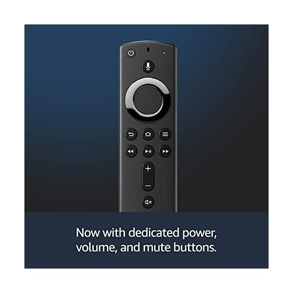 Fire TV Stick 4K streaming device with Alexa Voice Remote | Dolby Vision | 2018 release 4