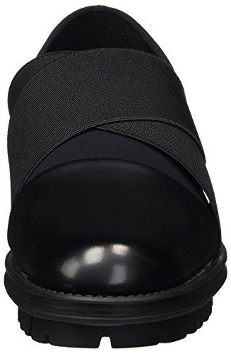 Femme Santos Noir boston R1700 Nr black Mocassins Rapisardi 01stbt wqt1S6f
