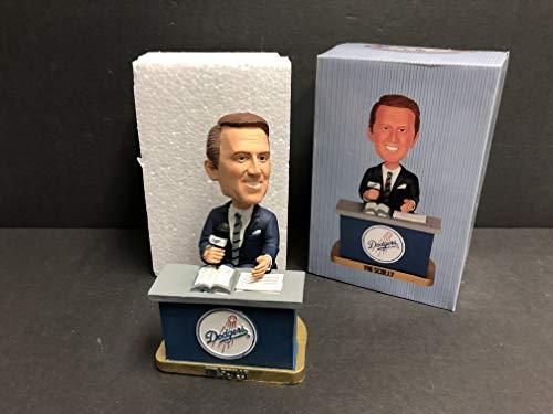 Vin Scully Sitting at Desk 2012 Dodgers Legendary Announcer STADIUM PROMO Bobblehead SGA