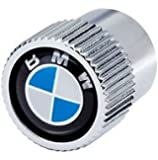 BMW Genuine Factory OEM 36110421544 Valve Stem Caps (Set of 4) Roundel Logo