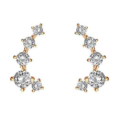 14k Cuff Earrings - 4