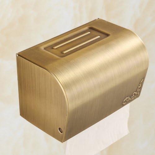 PEIWENIN-Cuarto de baño WC Papel higiénico Cubierta de Cobre ...