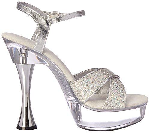 Women's Shoes Platform Janie Silver C Ellie Sandal v5qwSCn