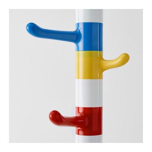 Ikea KROKIG - Stand de Ropa, Blanco, Multicolor - 128 cm ...