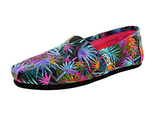 TOMS Women's Canvas Printed Palms Espadrille Pumps UK 4.5 Other