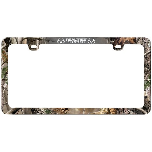 Realtree License Plate Frame (Realtree AP Camo, Sold - Camo Frame