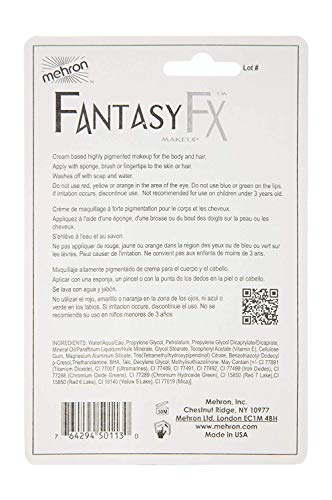 Mehron Makeup Fantasy F/X Water Based Face & Body Paint (1 ounce) (Zombie Flesh)