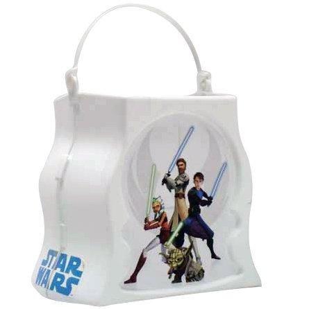 Star Wars Treat Pail (Rubie's Costume Co Clonewars Trick/Treat Pail Costume)
