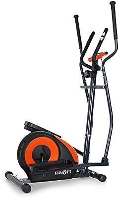 Klarfit - Bicicleta elíptica Ellifit FX 250 con ordenador de a bordo y pulsómetro - para crosstrainer con un peso máximo soportado de 110 kg., naranja: Amazon.es: Deportes y aire libre