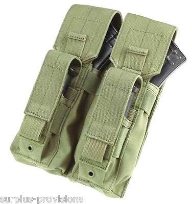 CONDOR Double AK Kangaroo Mag Pouch Olive Drab