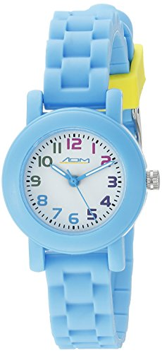 American Design Machine Jr. Kids' ADSG 5004 BLU Selma Analog Display Japanese Quartz Blue Watch