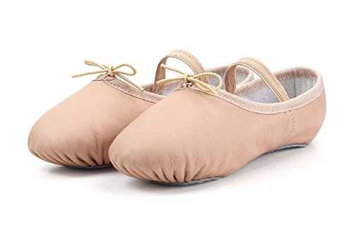 leather leather Shoes Pink Gymnastic Canvas Dance Adults Ballet Sizes amp; Childrens Yoga EgwqwxCXpP