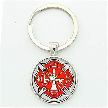 Ptk12-1 - Llavero, diseño de bomberos: Amazon.es: Oficina y ...