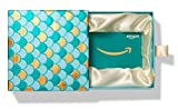 Amazon.com Gift Card in a Premium Teal and Gold Box