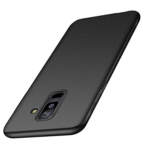 anccer Compatible for Samsung Galaxy A6 Plus 2018 Case [Colorful Series] [Ultra-Thin] [Anti-Drop] Premium Material Slim Full Protection Cover for Galaxy A6+ 2018 (Not for Galaxy A6) - Matte Gray