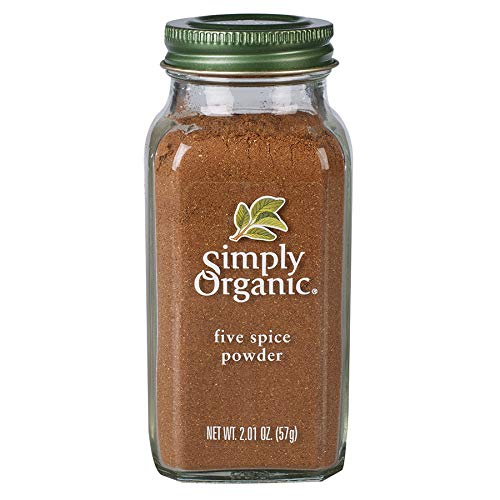 Simply Organic Five Spice Powder, Certified Organic | 2.01 oz