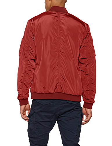 Uomo amp; rosewood Jack Jorpowell Rosso Giacca Jones Bomber Jacket dSq1xYnR