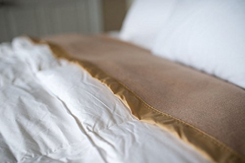 Oversized Fleece King Blanket - Tan (Acrylic Fleece)