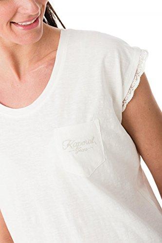 tee shirt kaporal fear blanc