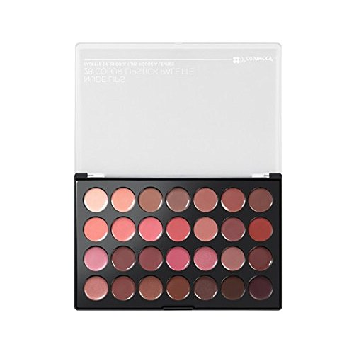 BH Cosmetics Nude Lips 28 Color Lipstick Palette, 0.56 Pound (Lip Palette Lipstick)