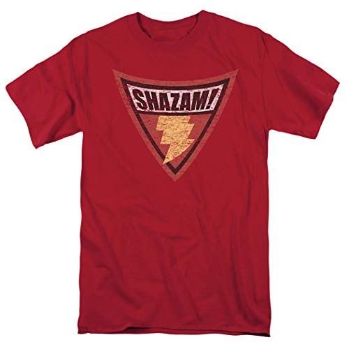 Batman: The Brave and The Bold Shazam Shield T Shirt & Stickers