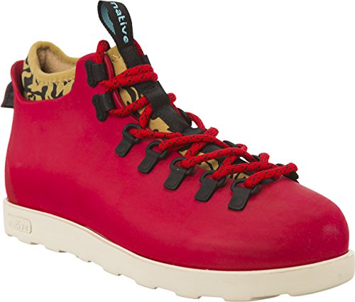 Native Shoes Unisex Fitzsimmons Rover Red/Tomb Brown/Bone White/Anthill Camo Sneaker