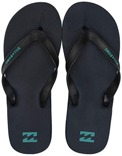 Billabong Men's All Day Sandal Flip-Flop, Navy/Teal, 9 M US ()