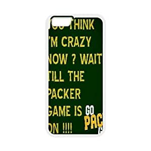 iPhone6 Plus 5.5 inch Phone Case White Green Bay Packers VEN803387