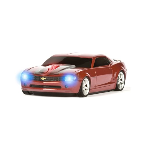 Wireless Mouse – Camaro Red with Black Stripes, Best Gadgets