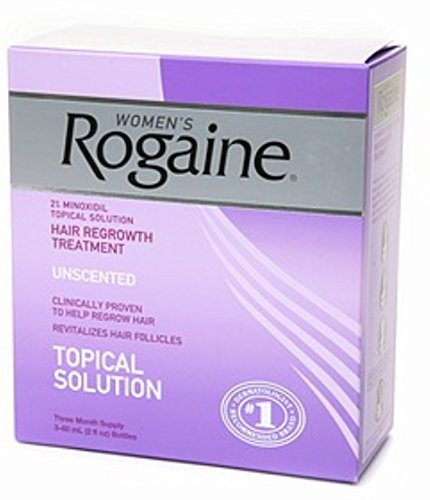 Rogaine Women's Unscented 6 oz (3-Pack) (Pack of 5) by Rogaine