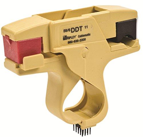 Ripley - Cablematic | Dual Drop Trimmer – Model: DDT-596/11 – (RG-59/6/N48/11)