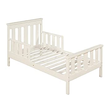 Ordinaire Bergamo Colonnade Toddler Bed   White