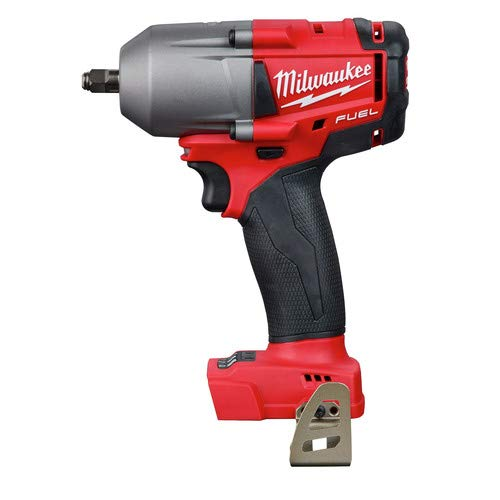 (Milwaukee 2852-20 M18 Fuel 18-Volt Lithium-Ion Brushless Cordless Mid Torque 3/8 in. Impact Wrench with Friction Ring (Tool-Only) )