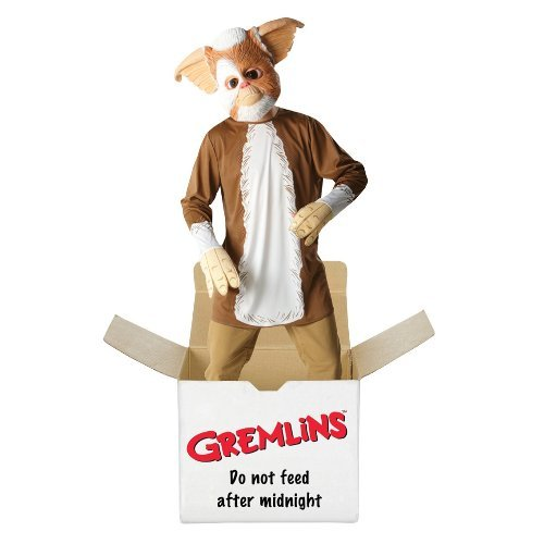 Gizmo Costume For Adults (GREMLINS GIZMO 80'S FILM GENTS MEN'S ADULTS FANCY DRESS PARTY HALLOWEEN COSTUME)