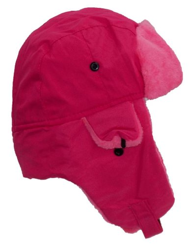 Solid Color Bright Flourescent Neon Hunter/Trapper Winter Hat (One Size) - -