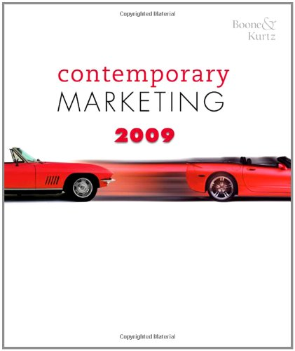 Contemporary Marketing 2009 Update (Available Titles CengageNOW)