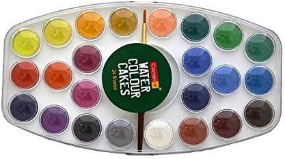 Camlin Kokuyo Water Color Cake 24 Shade Plastic Box Buy Online At