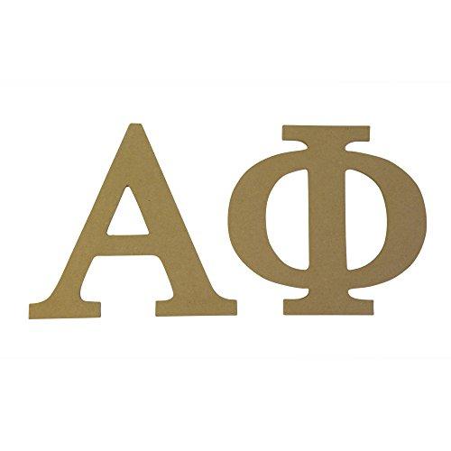 Phi Greek Letter (Alpha Phi 7.5