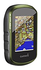 Etrex touch 35 is a color, capacitive touchscreen handheld with extra built-in internal memory to hold more maps. This rugged, dependable navigator features a high-sensitivity, was-enabled dual gps and glonass receiver and hotfix satellite pr...