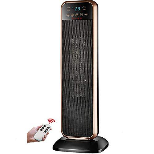 MOSM&OLX Calentador De Ventilador De Torre Eléctrico Oscilante De Cerámica Portátil con 2 Configuraciones De Calor...