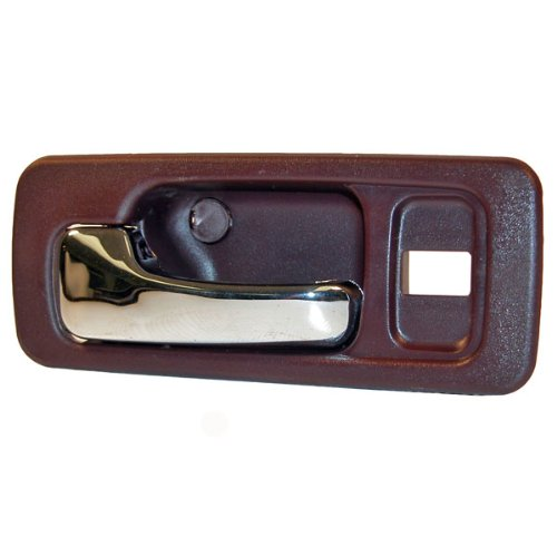 90-93 Honda Accord Red Inside Inner Interior Door Handle Left Driver (Honda Accord Red 4 Door)