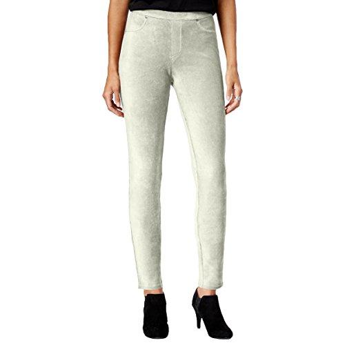 Ivory Corduroy (Style & Co. Womens Corduroy Comfort Waist Leggings Ivory M)