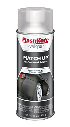 PlastiKote 1008 Black Primer Automotive Touch-Up Paint - 11 oz. (1962 Corvair Convertible)