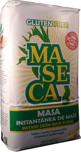 Maseca Instant Yellow Corn Masa Flour 4.4lb   Masa Instantanea de Maiz Amarillo 2.2kg