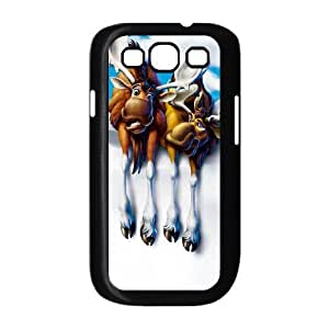 Generic for Samsung Galaxy S3 9300 Cell Phone Case Black Brother Bear Custom HAKHAOKHG4040