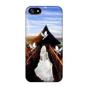Iphone 5/5s Case Cover Skin : Premium High Quality Light Case
